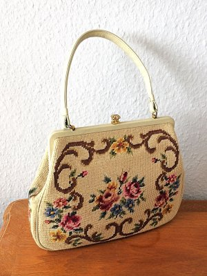 Vintage Sac Baril multicolore