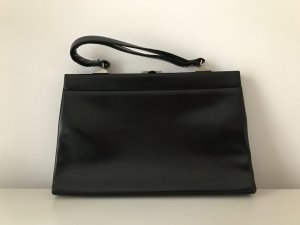 Goldpfeil Carry Bag black leather