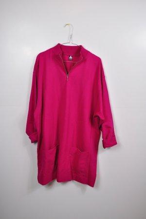 Original Vintage Kleid in Pink / Longpullover