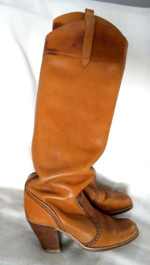 Original vintage Leder Boots aus Canada