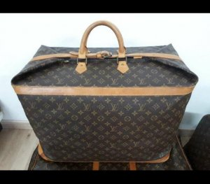 Original Vintage LOUIS VUITTON Cruiser 55 Reisetasche