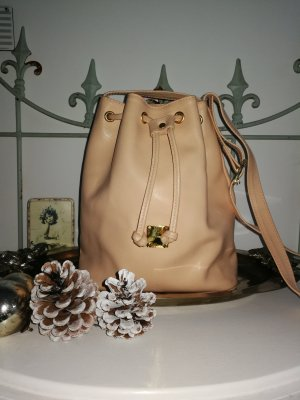 MCM Pouch Bag nude