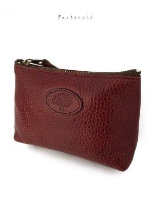 Original Vintage Mulberry London Luxus Tasche Beutel Pochette Leder Rarität