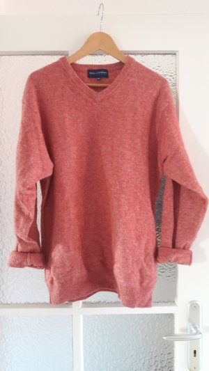 Oversized Sweater pink-raspberry-red mixture fibre
