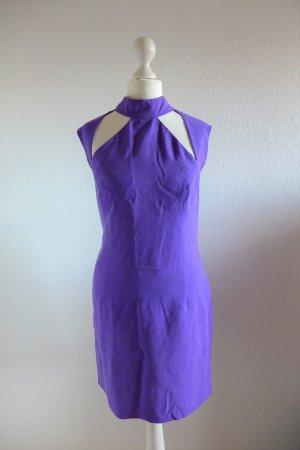 Original Vintage Versus Gianni Versace 90er 2000er Kleid lila ital. 46 dt. 40