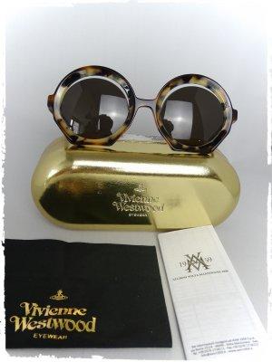 Vivienne Westwood Ronde zonnebril bruin