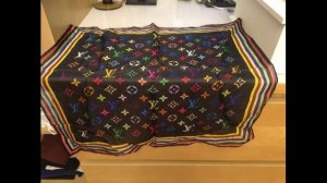 Louis Vuitton Foulard multicolore