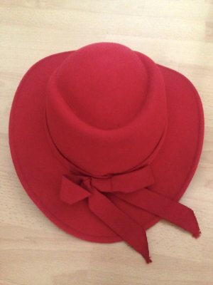 Walter Vilten hoed baksteenrood