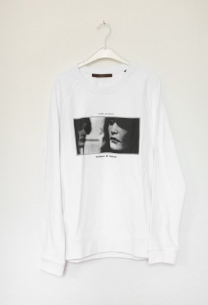 Windsor Sweat Shirt white-black