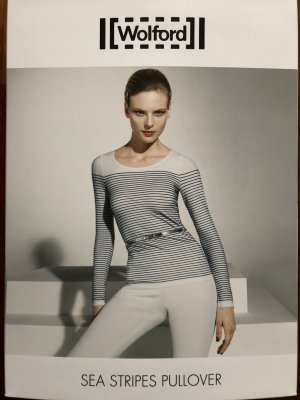 Original Wolford Sea Stripes Pullover