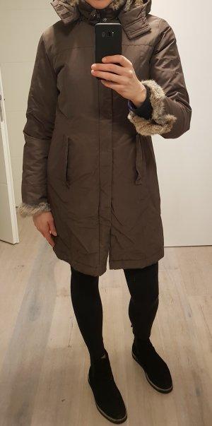 Original Woolrich Wintermantel Gr. L,  khaki