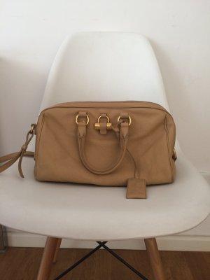 Original Yves Saint Laurent Bowling Bag, Beige