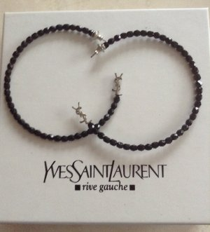 Original Yves Saint Laurent Creolen Ohrringe