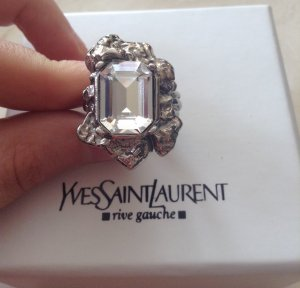Yves Saint Laurent Anillo color plata
