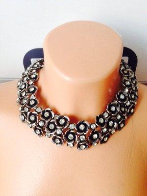 Zara Collar estilo collier color plata
