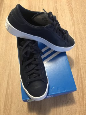 Adidas Sneakers wit-donkerblauw