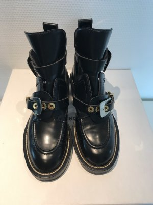 Balenciaga Stivaletto cut out nero Pelle