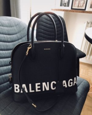 Balenciaga Handbag black-white