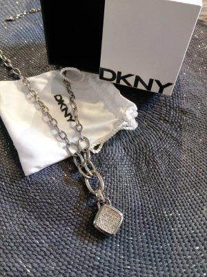 Originale DKNY Kette, super Zustand, Silber