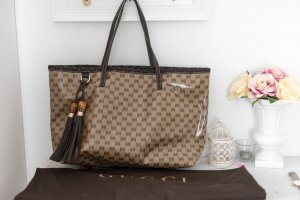 Gucci Shopper light brown-brown