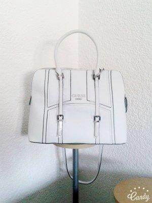 Originale GUESS Handtasche in weiß. Neu mit Etikett