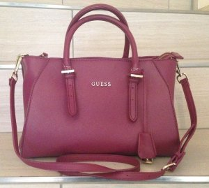 Originale Guess Handtasche pink/violett, gebraucht