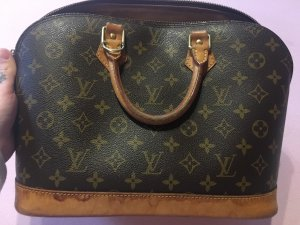 Louis Vuitton Bolso marrón grisáceo