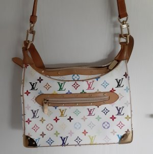 Originale Louis Vuitton Boulogne Tasche multicolore weiss