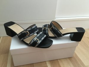 Louis Vuitton High-Heeled Sandals grey-black