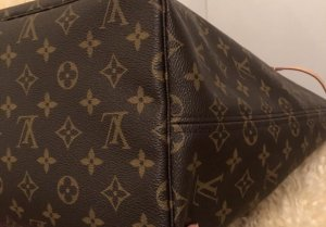 Louis Vuitton Carry Bag black brown-raspberry-red
