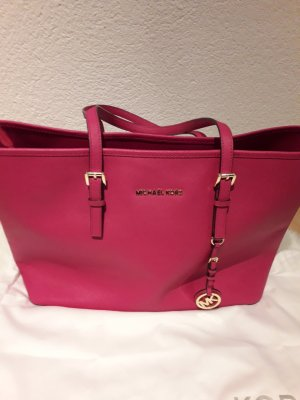 Originale Michael Kors Jet Set Travel Farbe Pink