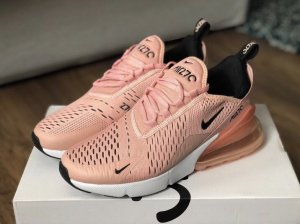 Nike Lace-Up Sneaker salmon-apricot