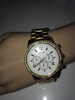 "Originale "" Oozoo"""" Damen Armbanduhr aus Metall in Gold Farbe"