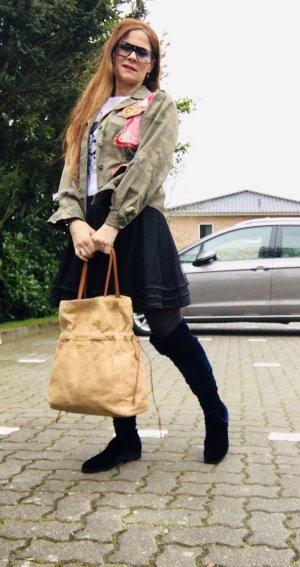 Originale PRADA Leder Shopping Bag Tasche