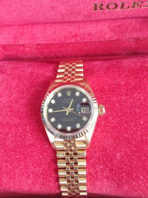 Originale Rolex Datejust echt Gold