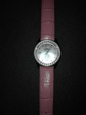 Originale s,Oliver Armbanduhr aus Edelstahl , echt Leder Armband   .