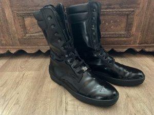 Originale TOD'S Lederstiefel Ankle Boots, Gr. 37,5