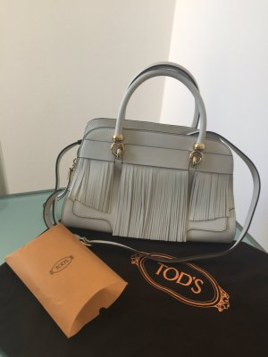 Originale TOD'S Sella Bags in Weiß- Top Zustand-
