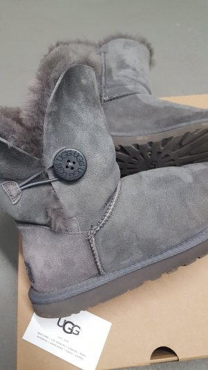 UGG Stivale grigio chiaro-grigio Pelliccia