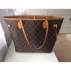 Louis Vuitton Bolsa de hombro coñac Imitación de cuero
