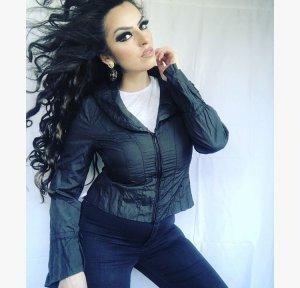 originale Vestino jacke in schwarz