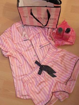 Pink Victoria's Secret Pijama rosa claro-rosa