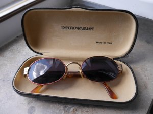 Armani Oval Sunglasses multicolored