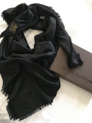 Originaler Louis Vuitton Schal/Tuch Black
