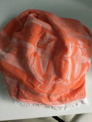 Originales Roberto Cavalli Tuch coralfarben 2 mal getragen