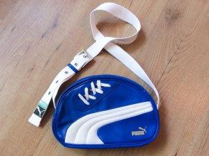 Originelle Handtasche in blau