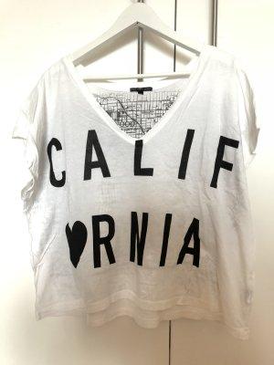 Originelles kurzes Tshirt mit CALIFORNIA Aufdruck, Oversize, Urban Outfitters
