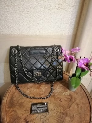 Chanel Borsa a tracolla nero-antracite