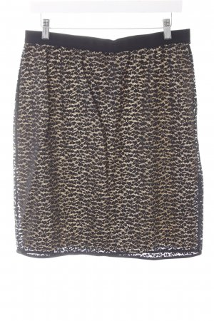 Oroblu Kanten rok zwart-nude casual uitstraling