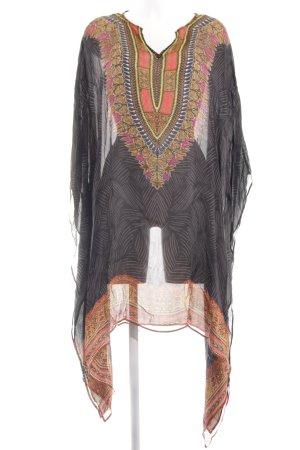 Oroblu Tunika abstraktes Muster Casual-Look